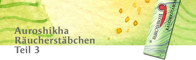 Ylang Ylang Räucherstäbchen Auroshikha 10g 17,50€/100g